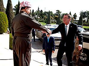 ABD Savunma Bakanı: 'Peşmerge tüm dünyanın onurudur'