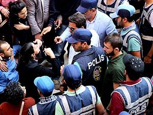 Diyarbakır'da Kışanak ve Anlı protestosuna müdahale
