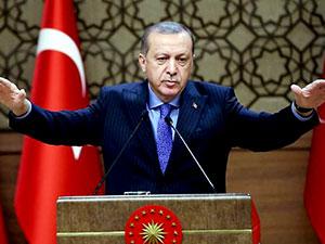 Erdoğan: 'Akdeniz'e uzanan koridora izin veremeyiz'