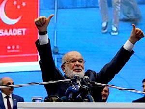 Saadet'te yeni başkan Karamollaoğlu