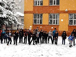 Erzurum, Ardahan, Kars ve Ağrı'ya kar yağdı