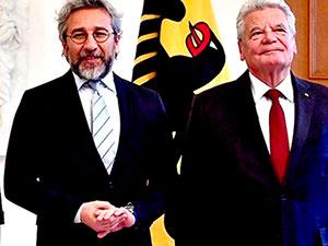 Almanya Cumhurbaşkanı, Can Dündar ile görüştü