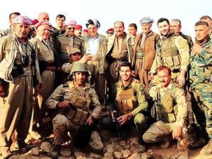 Mesud Barzani, Başika'da incelemelerde bulundu