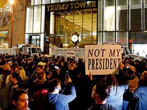 ABD'de Trump karşıtı protestolar yayılıyor