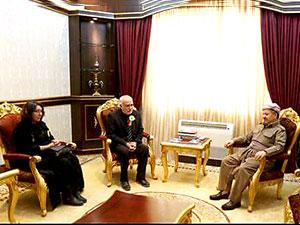 Barzani, Çürükkaya ailesine başsağlığı diledi