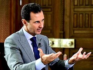 Esad'dan 'barış görüşmesi' açıklaması