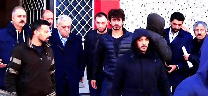 Ahmet Türk Elazığ'a nakledildiğini uçakta öğrendi