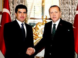 Neçirvan Barzani, Erdoğan ile görüştü