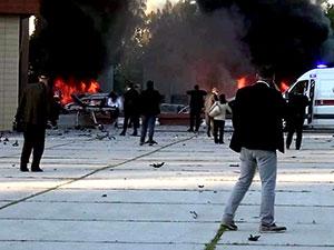 Adana'da bombalı saldırı