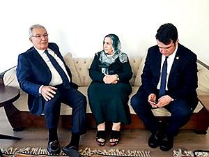 Baykal, Ahmet Türk'ün ailesini ziyaret etti