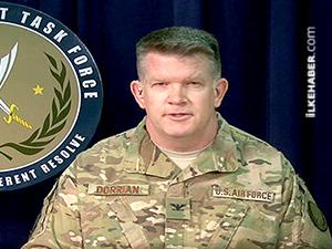 Koalisyon sözcüsü: Suriyeli Kürtlere silah dağıtımına başlayabiliriz
