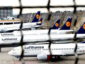 Lufthansa grev nedeniyle 800 seferi iptal etti