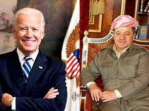 Joe Biden'dan Mesud Barzani'ye telefon