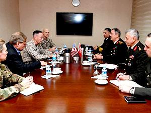 Hulusi Akar, ABD Genelkurmay Başkanı ile görüştü