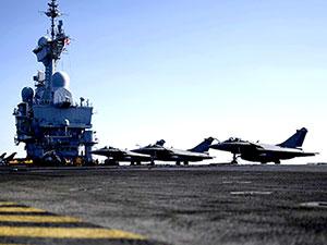Fransa, Uçak gemisini Doğu Akdeniz'den çekti