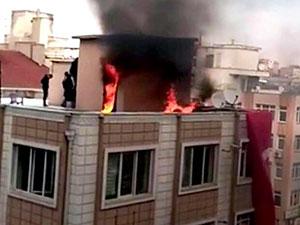 Kayseri'de HDP il binasına saldırı
