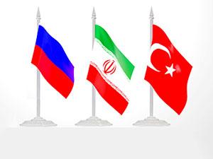 Moskova'da Türkiye, Rusya ve İran buluşması