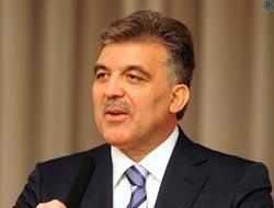"Gül'den ""Islak İmza"" açıklaması"
