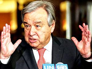 BM Genel Sekreteri Guterres bugün Hewler'e gidiyor