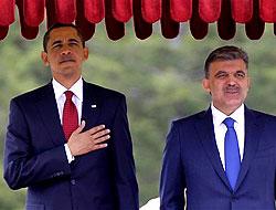 Obama'dan Gül'e mesaj