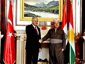 Barzani-Yıldırım görüşmesi sona erdi