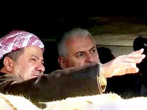 Başbakan Yıldırım, Zertik Dağı'nda Peşmerge cephesini ziyaret etti