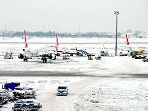 Türk Hava Yolları 277 seferini iptal etti