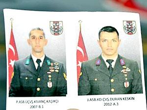 TSK: Fırat Kalkanı'nda irtibat kesilen iki asker şehit oldu