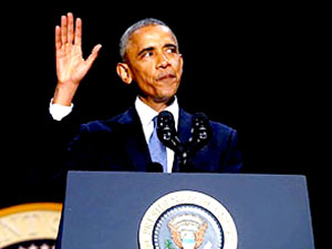 Obama'dan veda konuşması