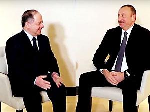 Barzani'nin Davos temasları sürüyor
