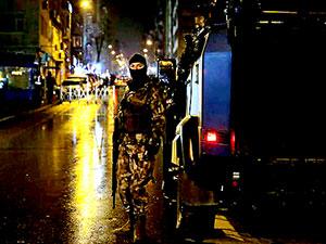 İstanbul'da lav silahıyla saldırılar düzenlendi