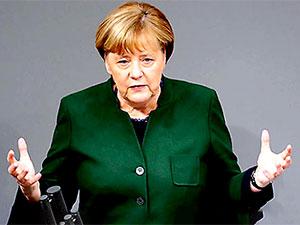 Merkel'den Erdoğan'a Nazi yanıtı