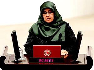 Meclis'te Afrin tartışması: Hüda Kaya'nın mikrofonu kapatıldı