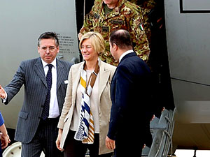 İtalya Savunma Bakanı Hewler'e gidiyor