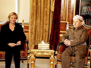 İtalya Savunma Bakanı: Peşmerge'ye yardım bizim için büyük onur