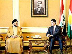 Iraklı Şii lider Ammar El Hekim Kürdistan'da