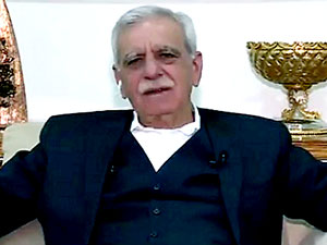 Ahmet Türk: 75 yaşındayım barışta rol almak istiyorum