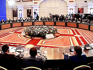 Astana görüşmeleri 16 Şubat'a ertelendi