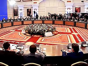 Astana'da ikinci tur Suriye görüşmeleri
