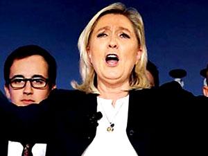 Fransa'da aşırı sağ tarihi zirvesinde