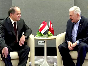 Barzani ile Yıldırım Münih'te görüştü