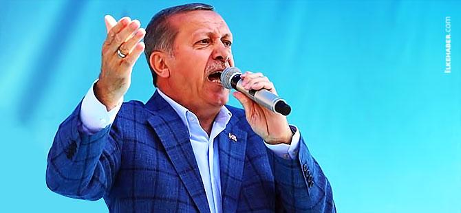 Erdoğan: 'Belgeyle konuşuyorum, faşistsiniz, faşist'