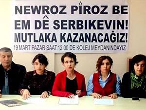 Ankara'da Newroz mitingi yasaklandı