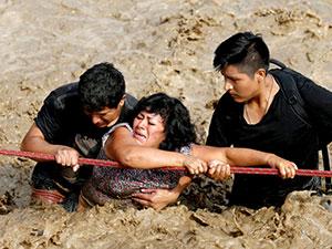 El Nino Peru'yu vurdu: 72 ölü