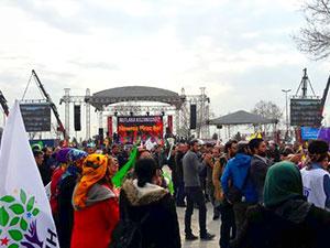 İstanbul'da Newroz kutlamaları başladı