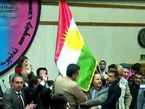 Kerkük'te Kürdistan bayrağı kararına onay