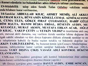 'Gülen medyası' davasında 21 tahliye