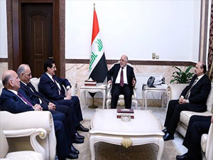 Kürdistan heyeti Haydar Abadi ile görüştü