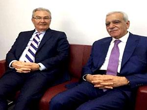 Deniz Baykal ve Ahmet Türk buluştu