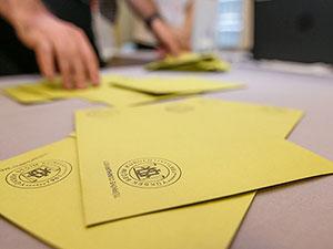 Oy verme işlemi tamamlandı, sayım başladı
